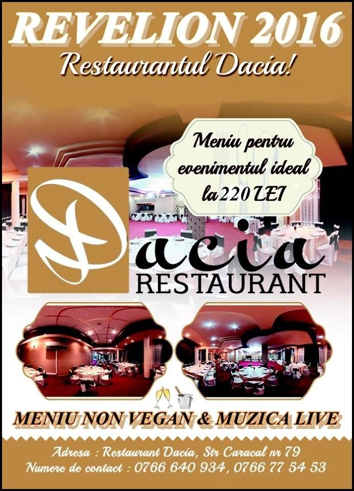 Revelion Craiova 2016 Restaurant DACIA