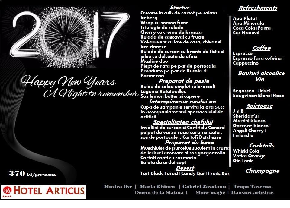 Revelion Hotel Articus Craiova