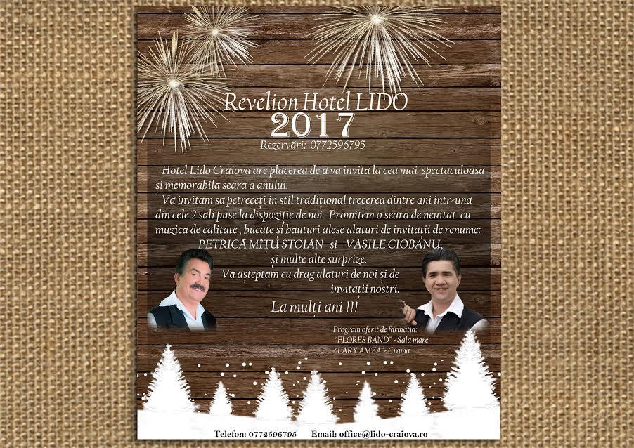 Revelion Craiova 2017 Hotel Restaurant LIDO