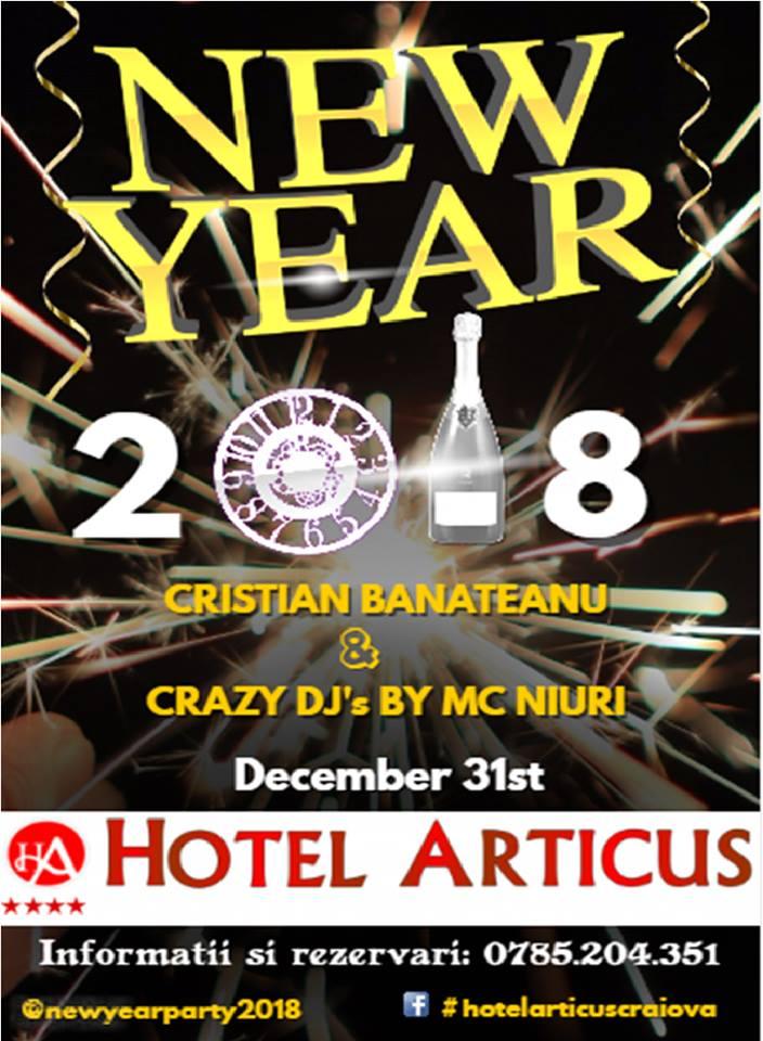 Revelion 2018 Craiova Hotel Articus
