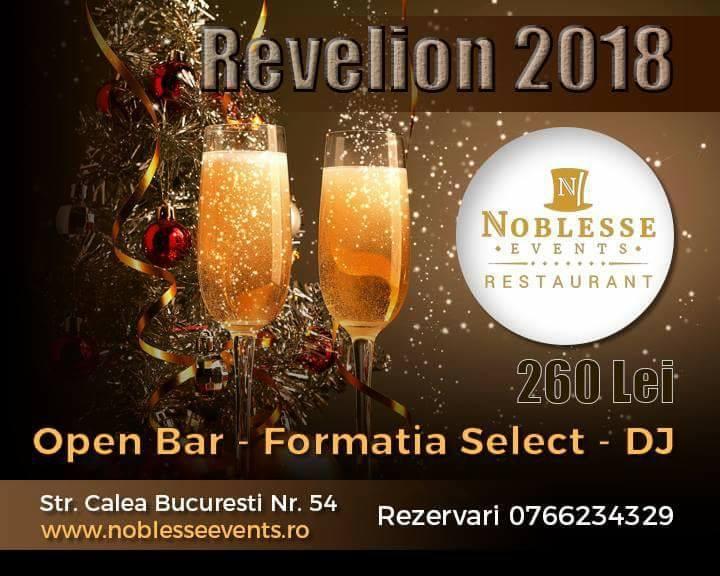 Revelion Noblesse Events Craiova 2018