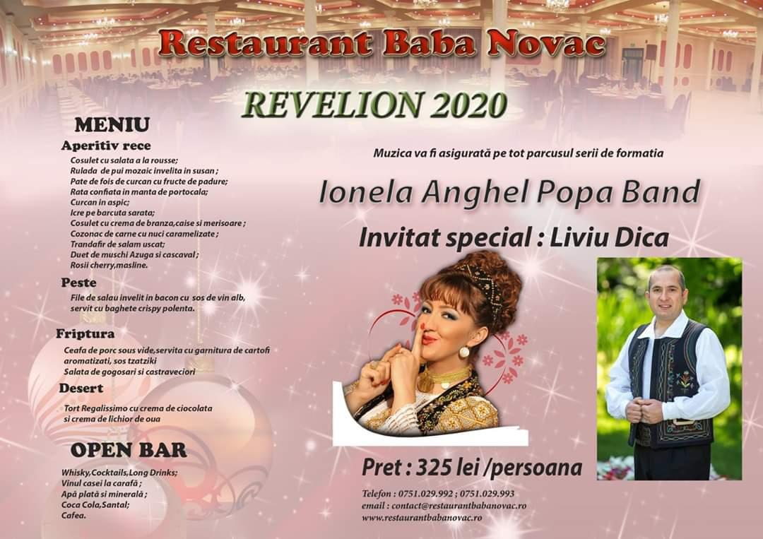 Revelion 2020 Restaurant Baba Novac Craiova