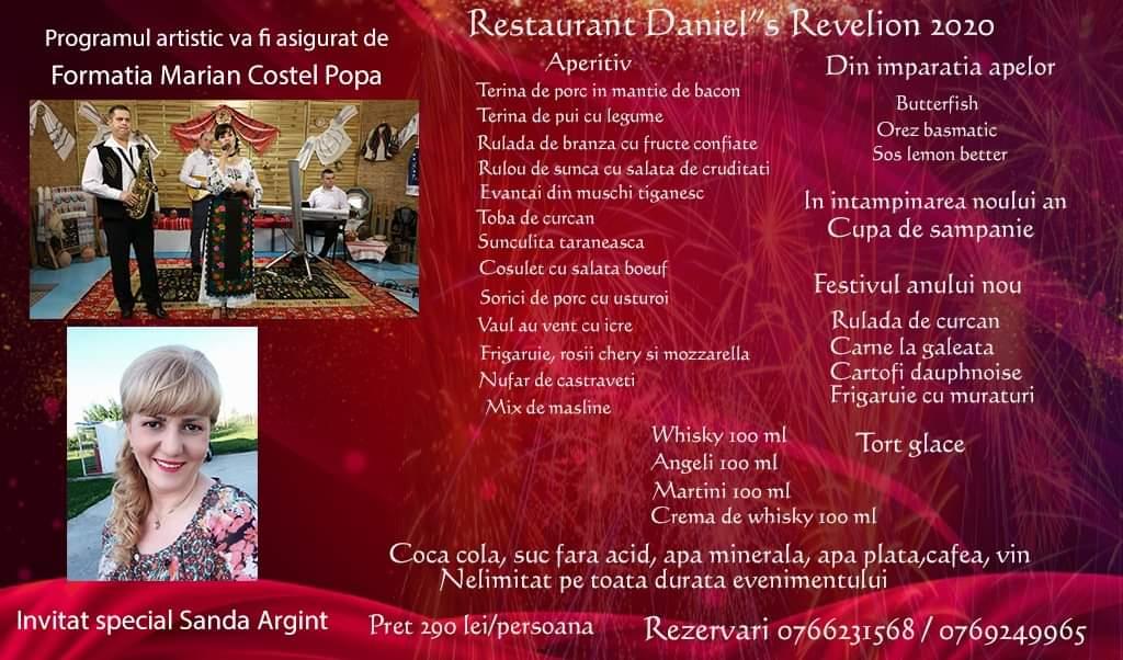 Revelion 2020 Restaurant Daniels din Craiova